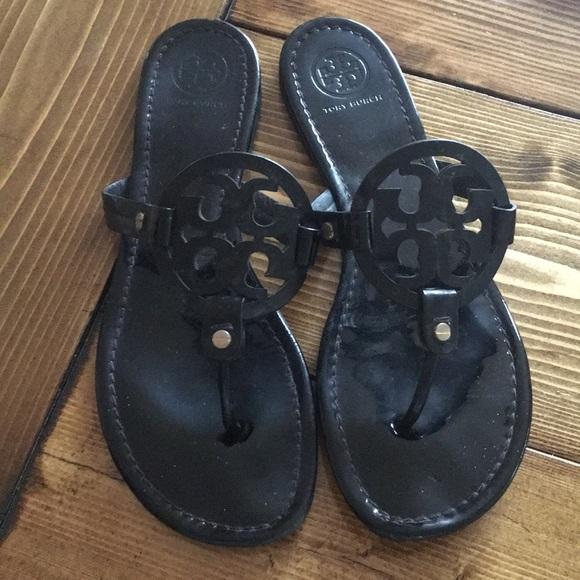 80ce23b13a943 Used Tory Burch Miller Sandal Size 11. M 5b0c1e845512fd9e80c25196